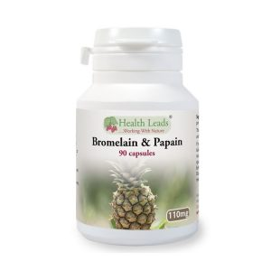 Bromelain Papain enzyme capsules