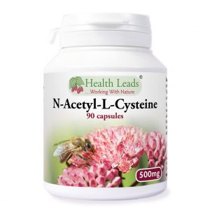 N-Acetyl-L-Cysteine 500mg capsules